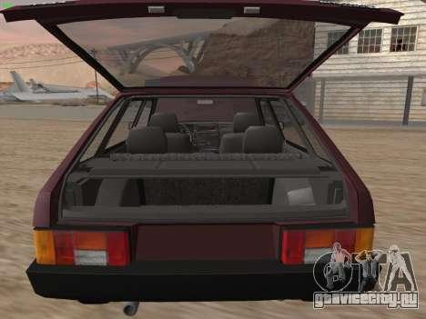 ВАЗ 2109 для GTA San Andreas колёса