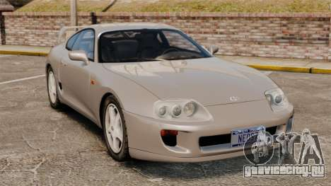 Toyota Supra MKIV 1995 v3.5 для GTA 4