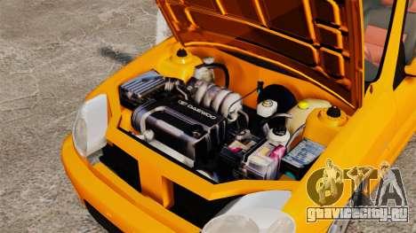 Daewoo Lanos Sport US 2001 для GTA 4 вид изнутри
