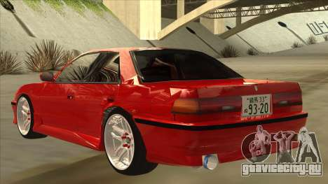 Toyota Chaser JZX81 Touge Style для GTA San Andreas вид сзади