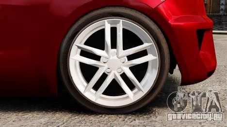 SEAT Ibiza для GTA 4 вид сзади