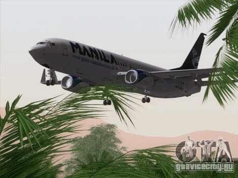 Boeing 737-800 Spirit of Manila Airlines для GTA San Andreas двигатель