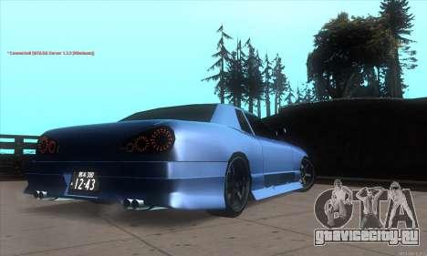 Elegy awesome D.edition для GTA San Andreas вид справа