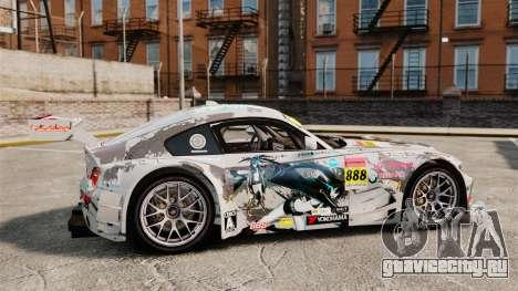 BMW Z4 M Coupe GT Black Rock Shooter для GTA 4 вид слева