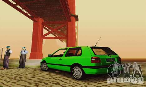 Volkswagen Golf Mk3 GTi 1997 для GTA San Andreas