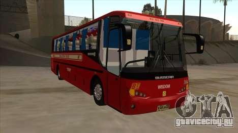 Bagong Lipunan Transit BM 384 для GTA San Andreas вид слева