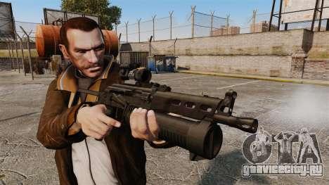 Пистолет-пулемёт ПП-19 Бизон для GTA 4 третий скриншот