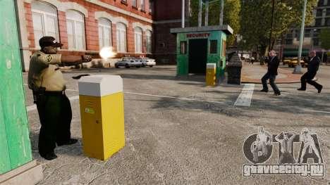 Полицейские охранники для GTA 4 третий скриншот
