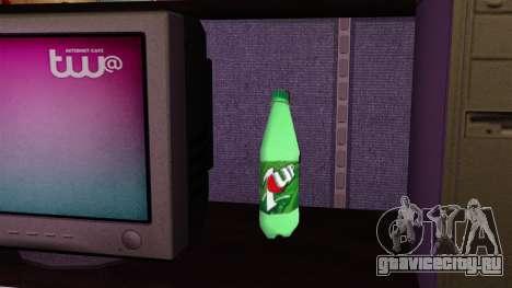 Новая бутылка газированного напиток 7UP для GTA 4 третий скриншот