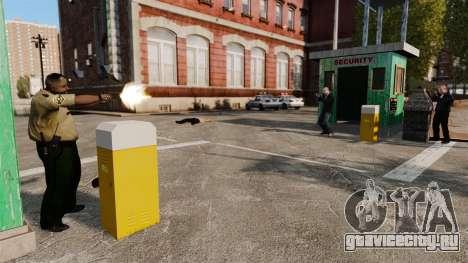 Полицейские охранники для GTA 4 четвёртый скриншот
