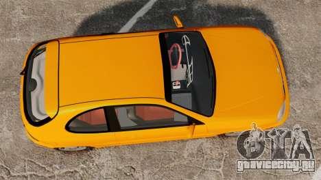 Daewoo Lanos Sport US 2001 для GTA 4 вид справа