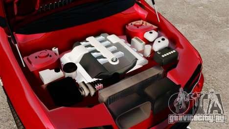 BMW X5 4.8iS v3 для GTA 4 вид изнутри