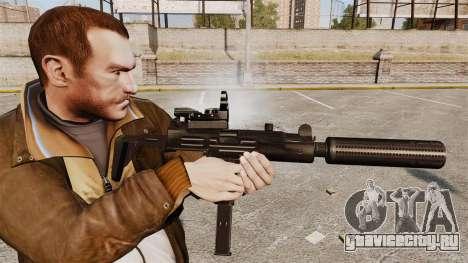 Тактическая узи v2 для GTA 4