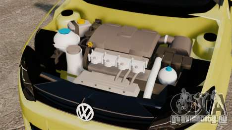 Volkswagen Gol G6 для GTA 4 вид изнутри