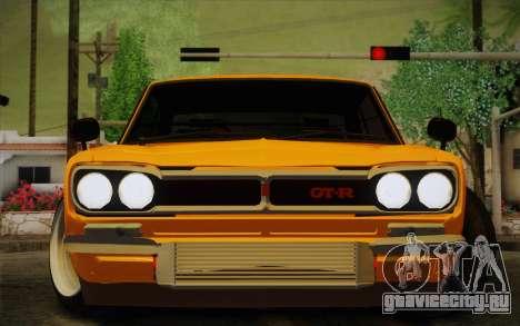 Nissan Skyline 2000GT-R Hoon для GTA San Andreas