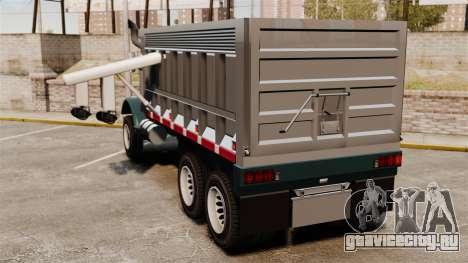 Новый грузовик Biff для GTA 4 вид сзади слева