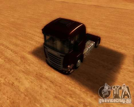 Scania R440 для GTA San Andreas вид справа