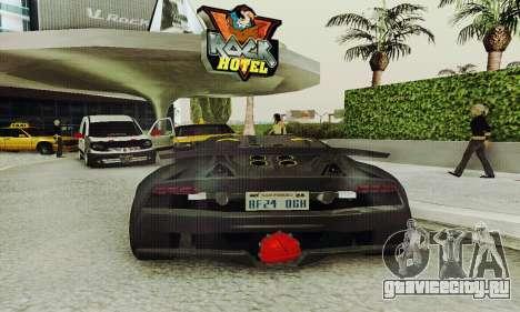 Lamborghini Sesto Elemento для GTA San Andreas вид сбоку