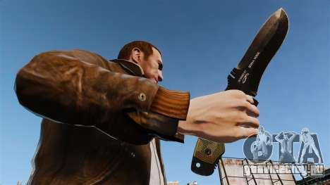 Тактический нож v4 для GTA 4