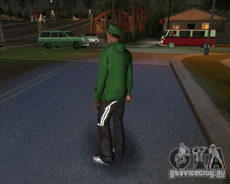 Рыночные спортивки для GTA San Andreas