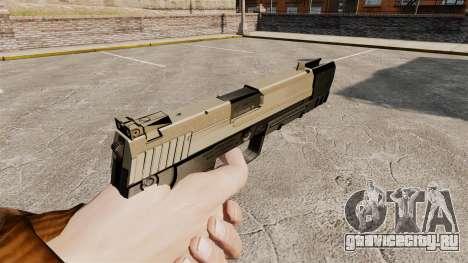 Самозарядный пистолет H&K USP v3 для GTA 4 второй скриншот