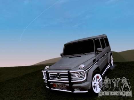 Mercedes-Benz G55 AMG для GTA San Andreas вид сверху