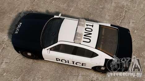 Полицейский Buffalo LAPD v1 для GTA 4 вид справа