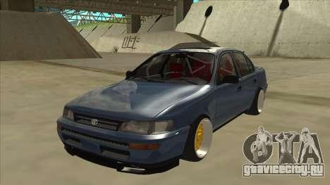 Toyota Corolla 1.6 1997 Hellaflush для GTA San Andreas