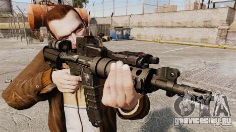 Тактическая M4 v3 для GTA 4
