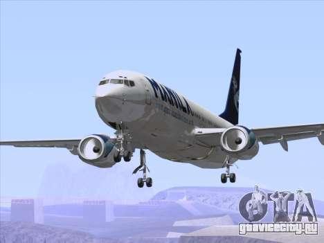 Boeing 737-800 Spirit of Manila Airlines для GTA San Andreas колёса