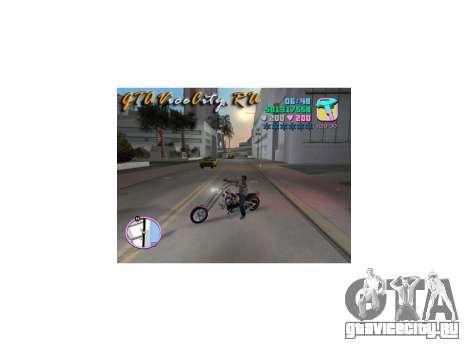 Harley Chopper для GTA Vice City