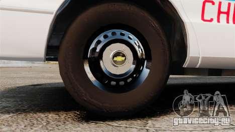 Chevrolet Caprice 1994 [ELS] для GTA 4 вид сзади