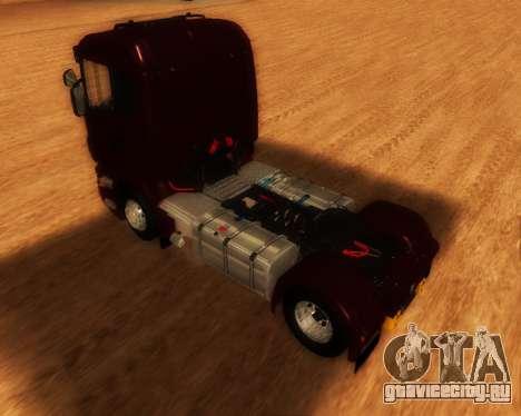 Scania R440 для GTA San Andreas вид слева