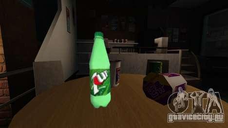 Новая бутылка газированного напиток 7UP для GTA 4