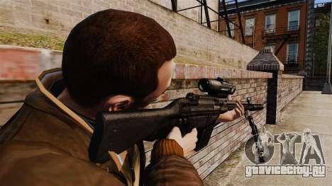 Снайперская винтовка HK G3SG1 v1 для GTA 4 второй скриншот