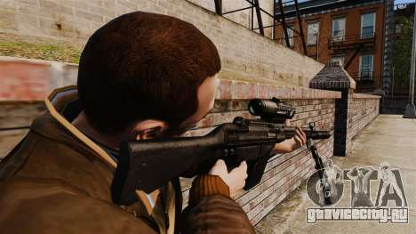 Снайперская винтовка HK G3SG1 v1 для GTA 4