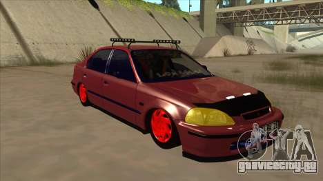 Honda Civic V2 BKModifiye для GTA San Andreas