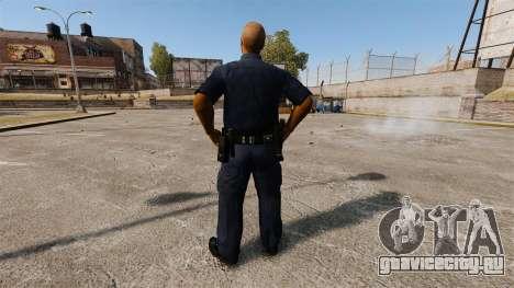 Обновлённый гардероб для полицейских для GTA 4 третий скриншот