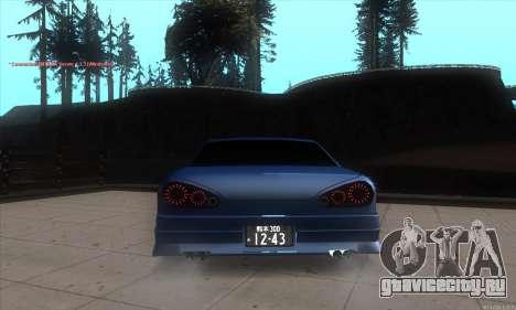Elegy awesome D.edition для GTA San Andreas вид сзади слева