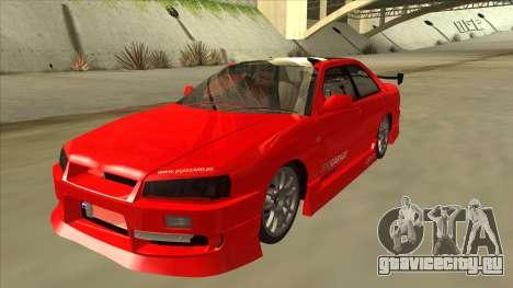 Nissan Skyline ER34 JDMGarage для GTA San Andreas