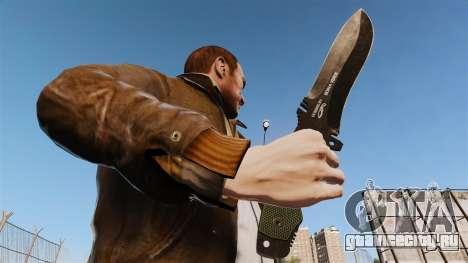 Тактический нож v3 для GTA 4 третий скриншот