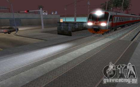 Train light для GTA San Andreas