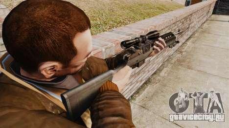Снайперская винтовка M21 v2 для GTA 4 второй скриншот
