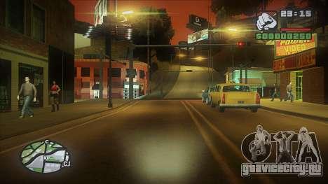 GTA HD Mod для GTA San Andreas четвёртый скриншот