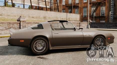 Imponte Phoenix 455 RS для GTA 4 вид слева