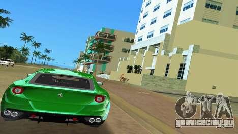 Ferrari FF 2011 для GTA Vice City вид справа