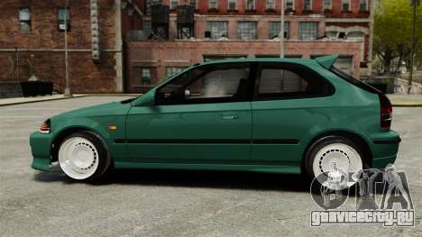 Honda Civic Al Sana для GTA 4 вид слева