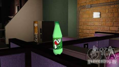 Новая бутылка газированного напиток 7UP для GTA 4 второй скриншот