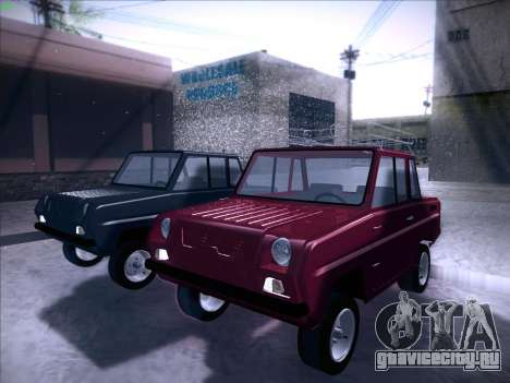 СеАЗ С-3Д для GTA San Andreas вид справа