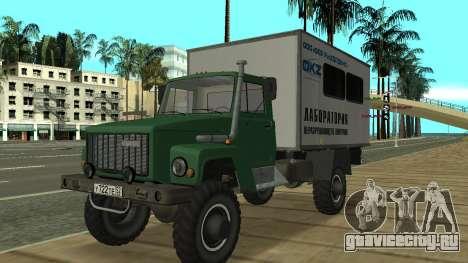 Автолаборатория ГАЗ 3309 Садко для GTA San Andreas